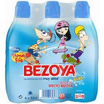 Bezoya Agua mineral 6x33cl