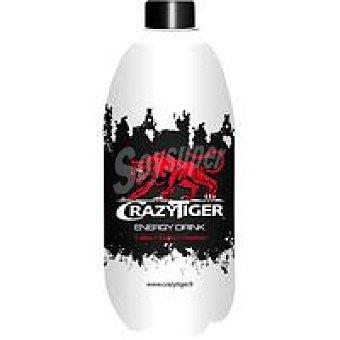 Crazy tiger Energético regular botella 1 litro