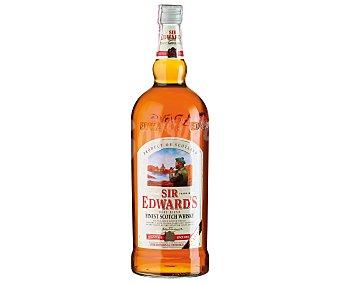 SIR EDWARDS Whisky blended escocés botella de 1,5 litros