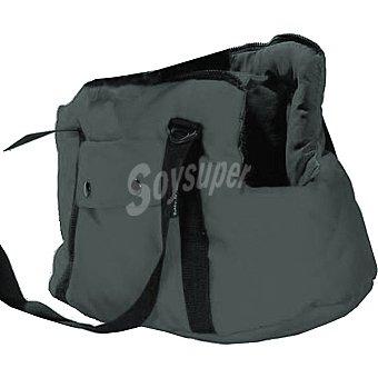 Bobby bolso mochila para mascotas medida 50 cm color gris 1 unidad