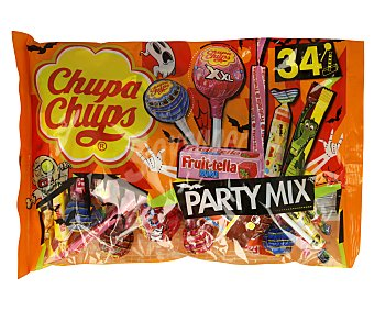 Chupa Chups Caramelos con palo halloweenparty Mix 400 g