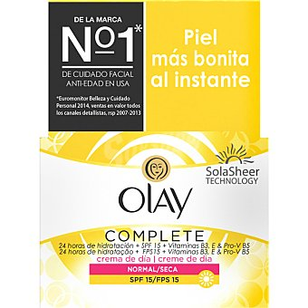 Olay Essentials Complete Care crema hidratante de dia FPS 15 tarro 50 ml 15 tarro 50 ml