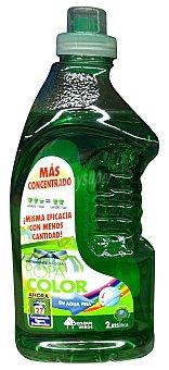 Bosque Verde Detergente lavadora liquido ropa color Botella 2025 cc - 27 lavados