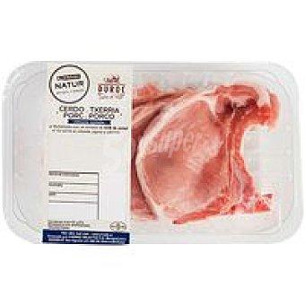 NATUR Duroc Chuleta de lomo de cerdo Eroski Bandeja 450 g