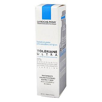 La Roche-Posay Crema Toleriane Ultra, tratamiento calmante intenso rostro y ojos 40 Mililitros