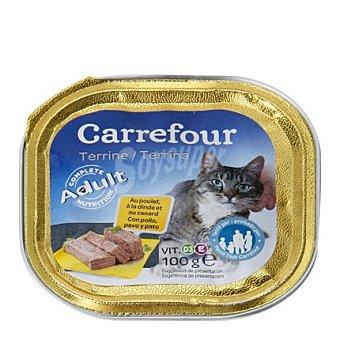 Carrefour Delicias para gatos de pollo 100 gr