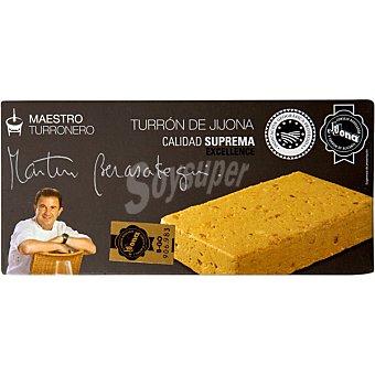 Martin Berasategui Maestro Turronero turrón de Jijona Calidad Suprema tableta 250 g Tableta 250 g