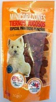 Compy Mini Corazones Tiernos Especial Perros Pequeños Paquete 50 g