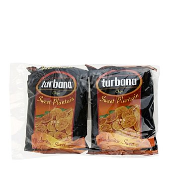 Turbana Platanitos maduro Pack de 2x95 g