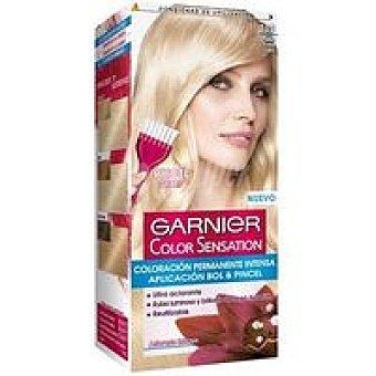 Color Sensation Garnier Tinte Rubio Claro N.110 Caja 1 unid. + Cepillo