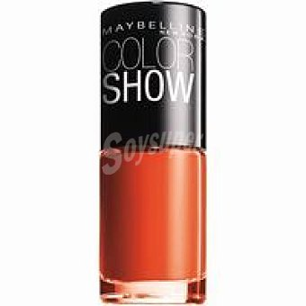 Maybelline New York Laca de uñas Colorama 341 Orange Pack 1 unid