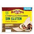 Tortillas mexicanas extra tiernas sin gluten pack 6x36 g Old El Paso