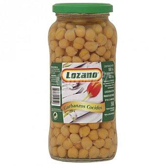 LOZANO Garbanzos cocidos al natural Tarro 560 g