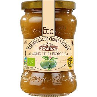 HELIOS mermelada de ciruela extra ecológica frasco 350 g