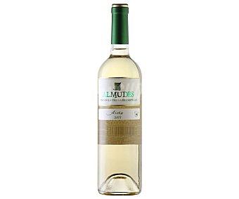 3 ALMUDES Vino blanco airén de la tierra de castilla botella de 75 centilitros