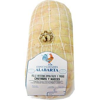 ALABARTA Roti de pollo trufado castañas/nueces peso aproximado Bandeja 1 kg