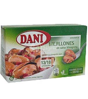Dani Mejillones a la vinagreta 13/18 piezas 64 g