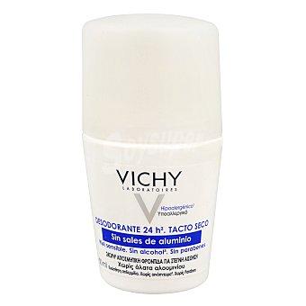 Vichy Desodorante sin sales de aluminio, sin alcohol y sin parabenos 50 Mililitros