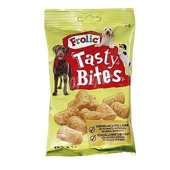 Frolic Snack para perros tasty bites de carne Bolsa 180 g