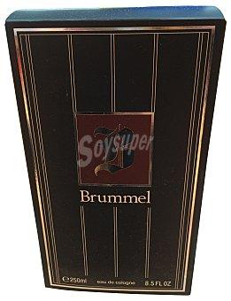 Brummel Colonia para hombre Frasco 250 ml