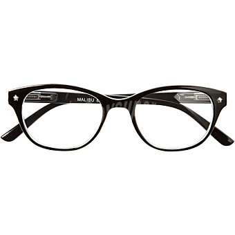 Loring Gafas de lectura Mod Malibu Black +200 caja 1 unidad 200 caja 1 unidad