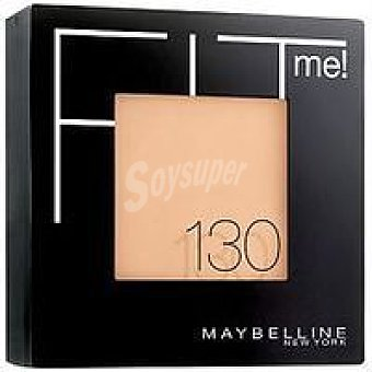 Maybelline New York Polvos Mate Fit Me 130 Buff pack 1 unid