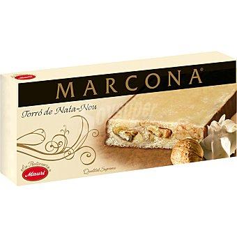 Marcona Turrón de nata con nueces Tableta 250 g