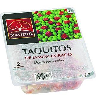 Navidul Taquitos de jamón curado Bandeja 140 g