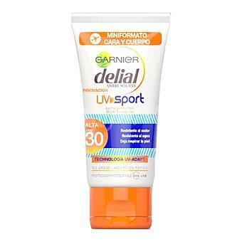 Delial Garnier Leche solar protectora UV Sport FP 30 Bote de 50 ml