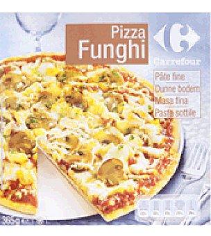 Carrefour Pizza funghi masa fina 365 g