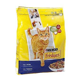 Friskies Purina Alimento para gatos salmon Bolsa 3 kg