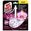 Desinfectante WC colgador Stylecrystal Pink Flowers Blister 1 unidad WC Net