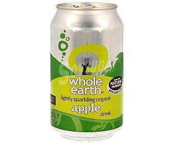 Whole earth Refresco de manzana biológico Lata de 33 ml