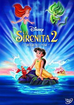 "Disney La Sirenita 2: ""regreso al Mar"" DVD 1 ud"