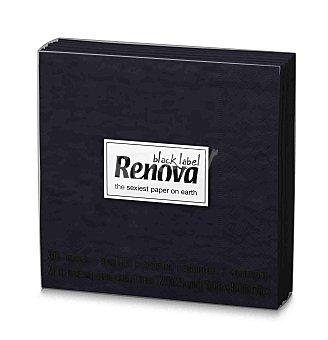 Renova Servilletas cocktail de color negro 30 unidades