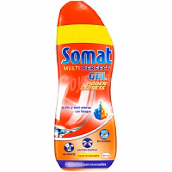 Somat Lavavajillas máquina gel vinagre Pack 2x26 dosis + 20%