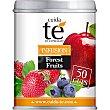 infusión con sabor a frutas del bosque lata 100 g Cuida Té
