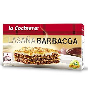 La Cocinera Lasaña Barbacoa 530 g
