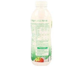 Auchan Yogur bifidus líquido de fresa 750 gramos