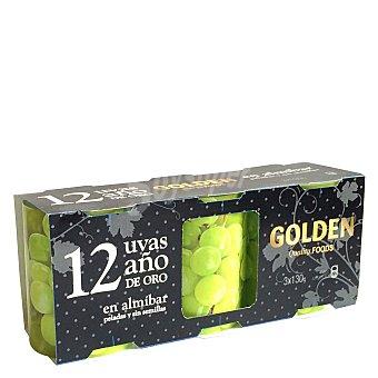 Golden 12 uvas año Pack de 3x130 g
