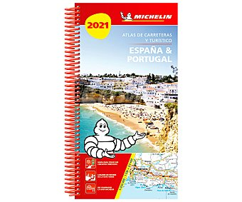 Michelin Atlas de carreteras y turístico España y Portugal 2021, VV. AA. Género: turimso, guías. Editorial Michelin.