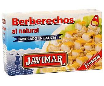 Javimar Berberechos pequeños al natural Lata de 63 g