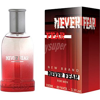 NEW BRAND Never Fear eau de toilette masculina spray 100 ml