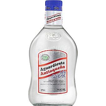 Antioqueño Aguardiente blanco sin azúcar botella 70 cl 70 cl