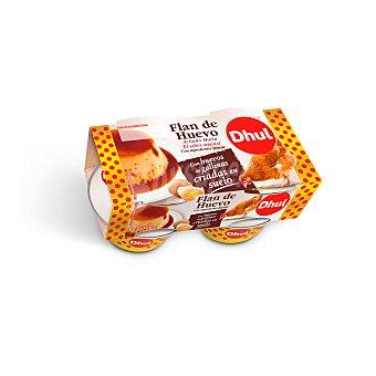 Dhul Flan de huevo al baño maría 4 x 110 g
