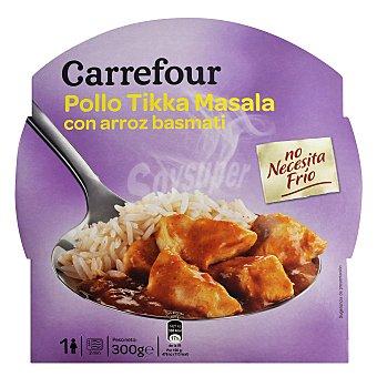 Carrefour Pollo Tikka con arroz basmati 300 g