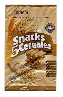 Hacendado Aperitivo snack 5 cereales Paquete 95 g