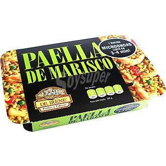 DE IRENE Paella de marisco para microondas 1 ración Bandeja 300 g