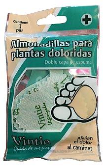 VINTIE Almohadilla relax Paquete 2 u