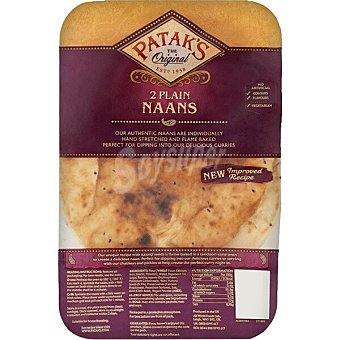 Patak's Plan naans Bolsa 240 g